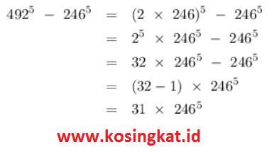 Kunci Jawaban Matematika Kelas 9 Halaman 58 62 Uji Kompetensi 1 Kosingkat