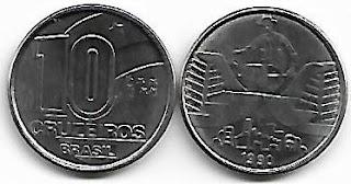 10 Cruzeiros, 1990