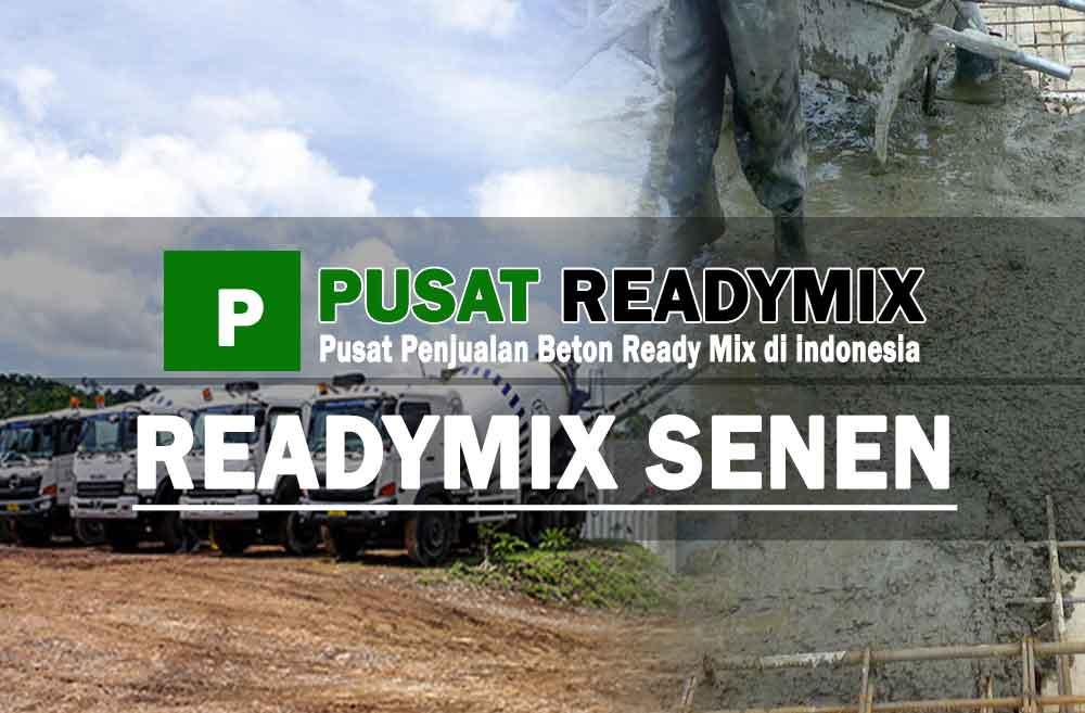 harga beton ready mix Senen