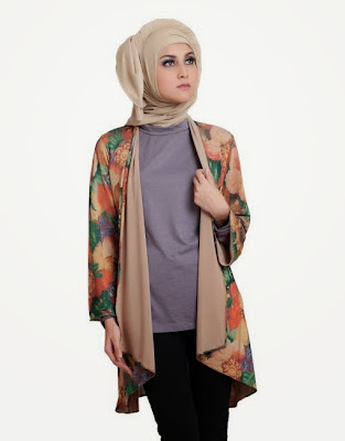Model Baju Muslim Blazer Setelan Celana Panjang Terbaru