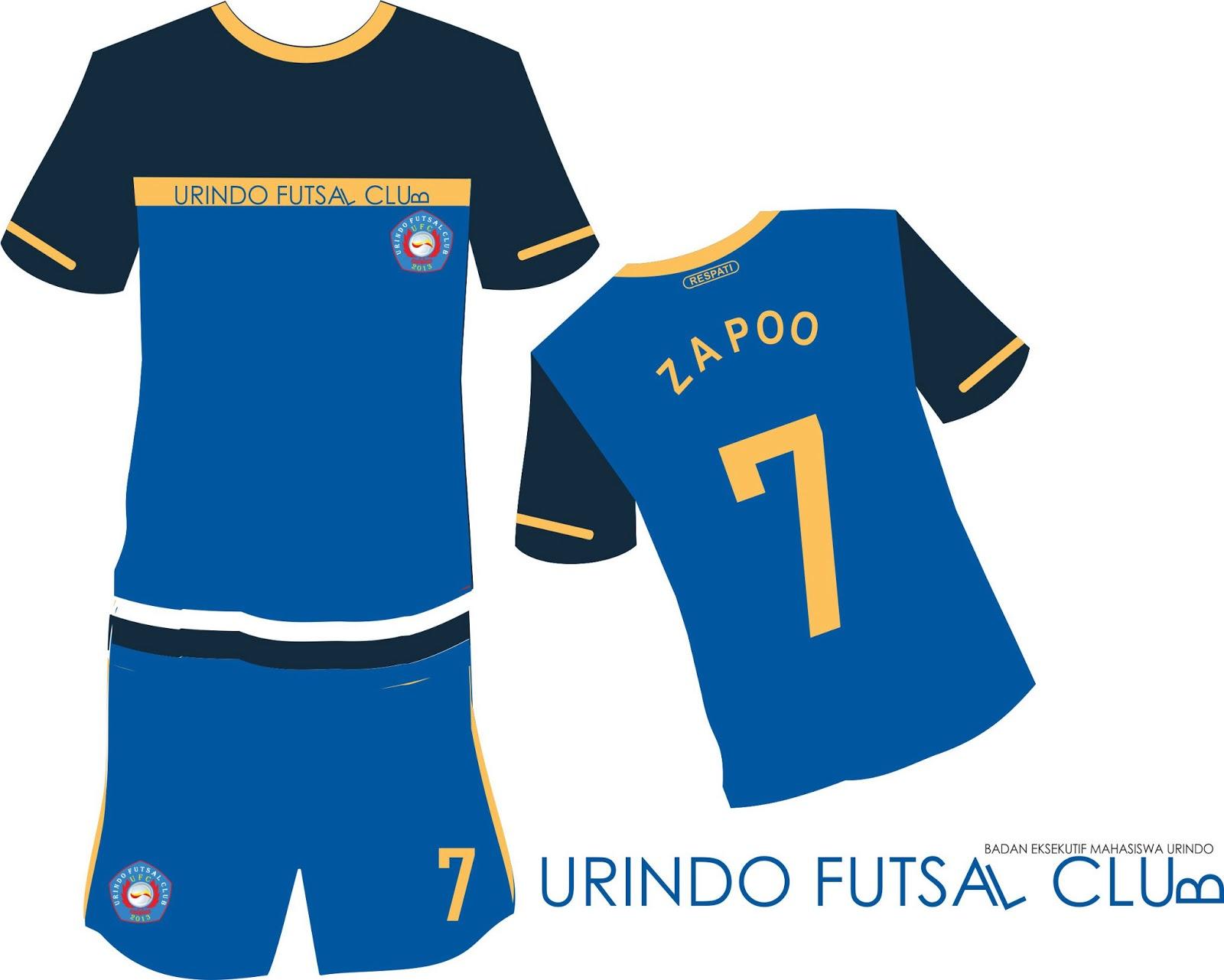 Desain Kaos Bola Futsal