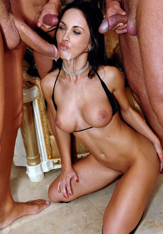 Megan Fox Cum on Face