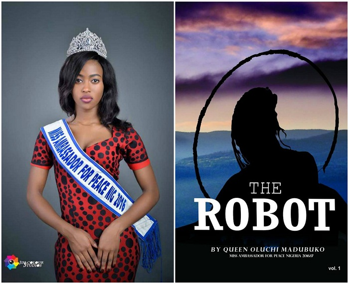 """Queen Oluchi Madubuko set to launch Her Book """"THE ROBOT"""" & Peace Education Campaign"""