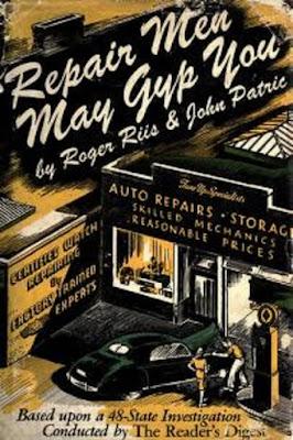 Repairmen may gyp you