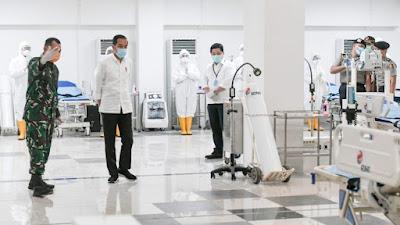 PT RNI Bantu Tabung Oksigen, Alkes dan Obat-obatan untuk Rumah Sakit Darurat Covid-19
