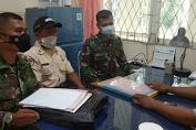 Subdenzibang 02/Skw dan BPN Bengkayang Ukur Aset Tanah milik TNI AD di Wilayah Bengkayang