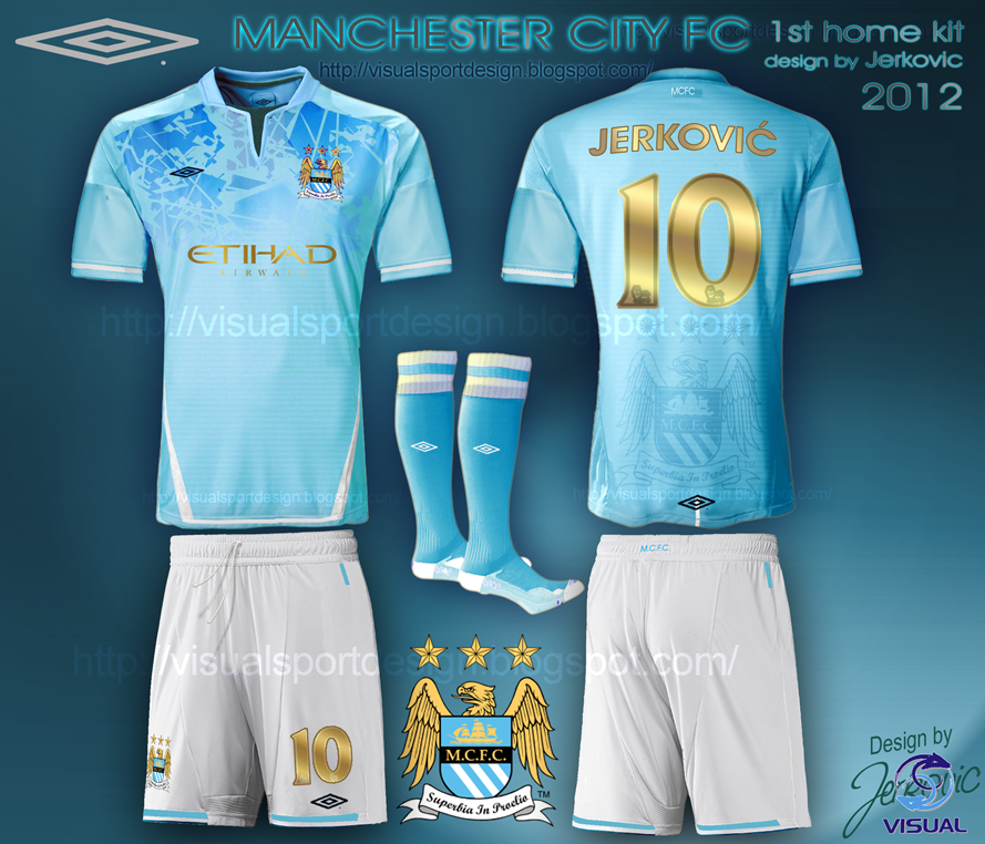 fbfc59c1219 manchester city fc football kit camiseta umbro jerković design