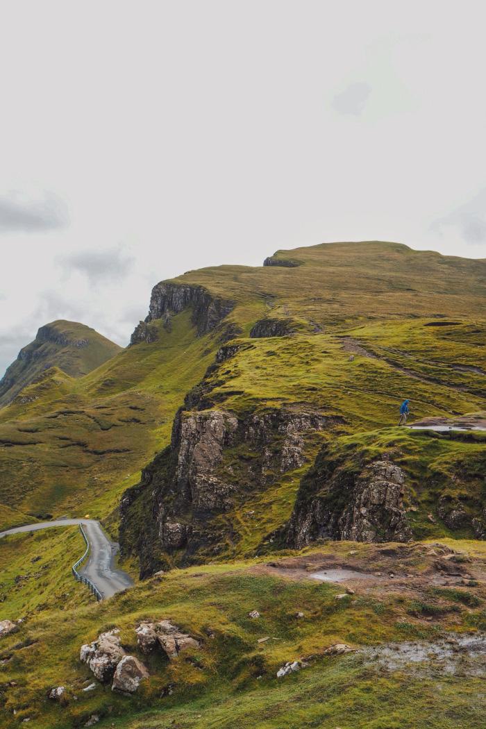 Le Quiraing sur l'île de Skye en Ecosse