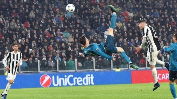 Ronaldo sets Champions League record with goal against Juventus