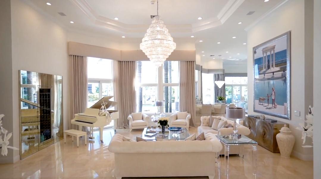 39 Interior Design Photos vs. 2270 Wilsee Rd, West Palm Beach, FL Luxury Home Tour