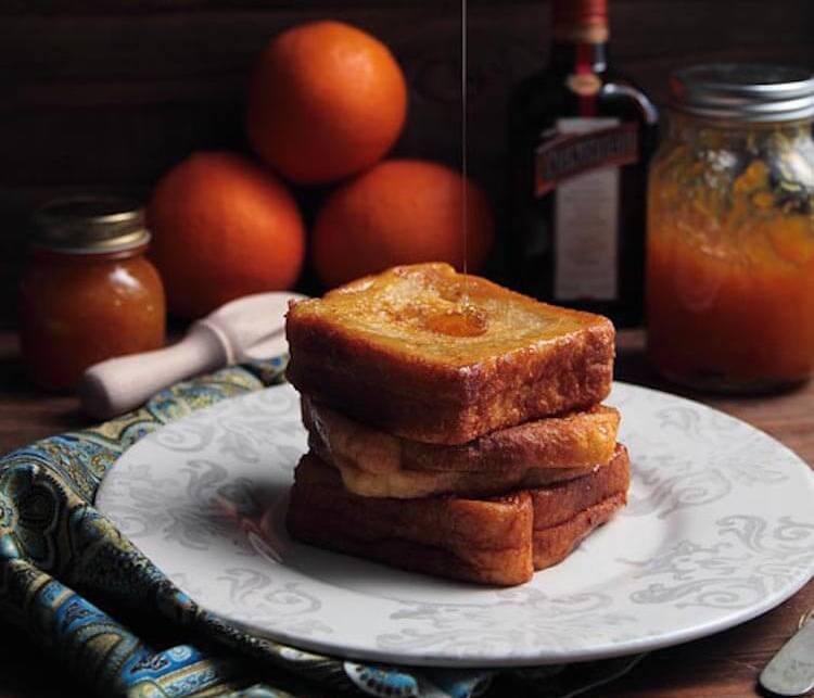 recetas pan de molde- Torrijas de Cointreau