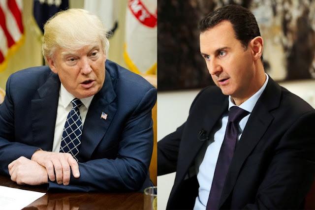 Trump Bantah Ingin Bunuh Assad