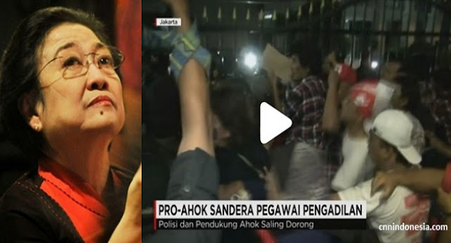 Aksi Anarkis, Megawati Malah Terenyuh Melihatnya