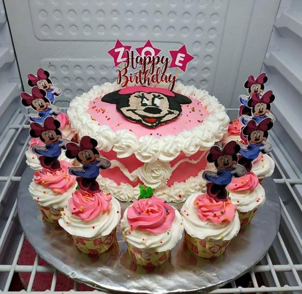 Kue Ulang Tahun Mini Mouse