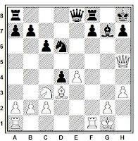 Sacrificio de obstrucción, partida de ajedrez Bobby Fischer - Pal Benko (Campeonato de Estados Unidos de Ajedrez de 1963)