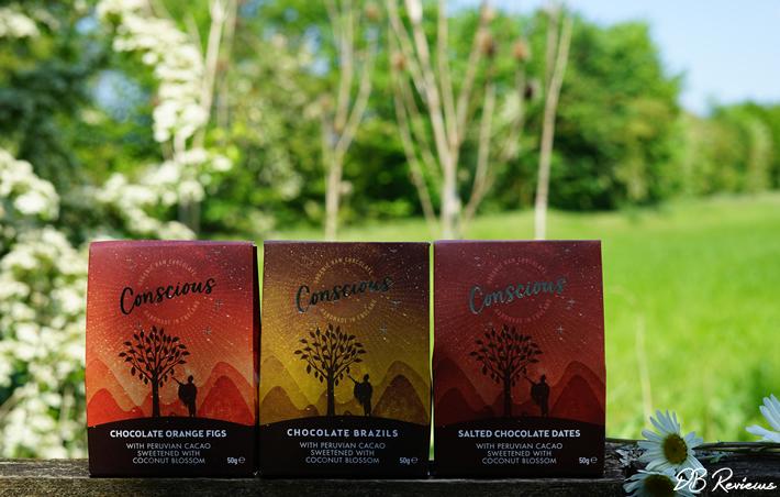 Chocolate Coated Nibble Collection from Conscious Chocolate