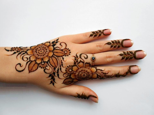 Latest Fancy Bridal Mehndi Designs For Hands Wallpapers Images Photos And Pictures
