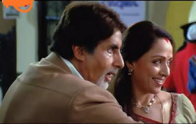 Amitabh Bachchan and hema malini baghvan film imotional scene