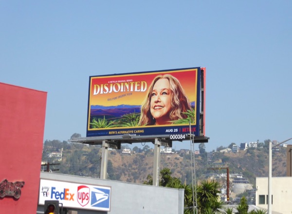 Disjointed season 1 billboard