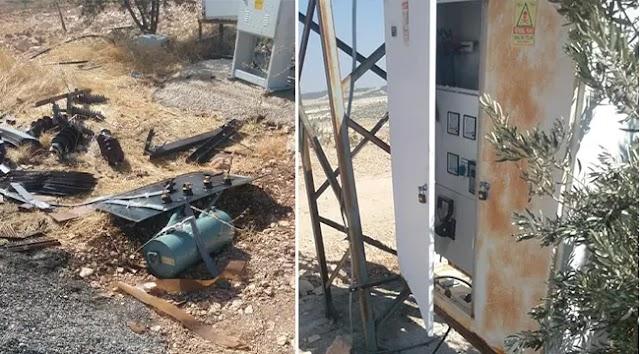 Hırsızlar su kuyusu sistemlerine dadandı