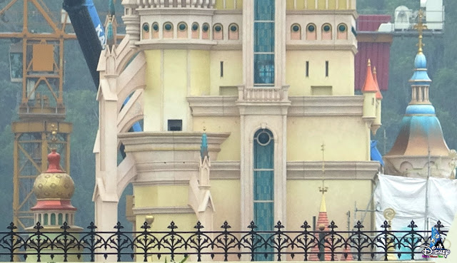 奇妙夢想城堡, Castle of Magical Dreams, 香港迪士尼樂園, Hong Kong Disneyland, HK, Construction Update, April
