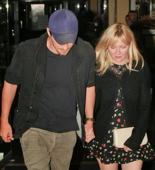 Kirsten Dunst and Garrett Hedlund - West Hollywood CA