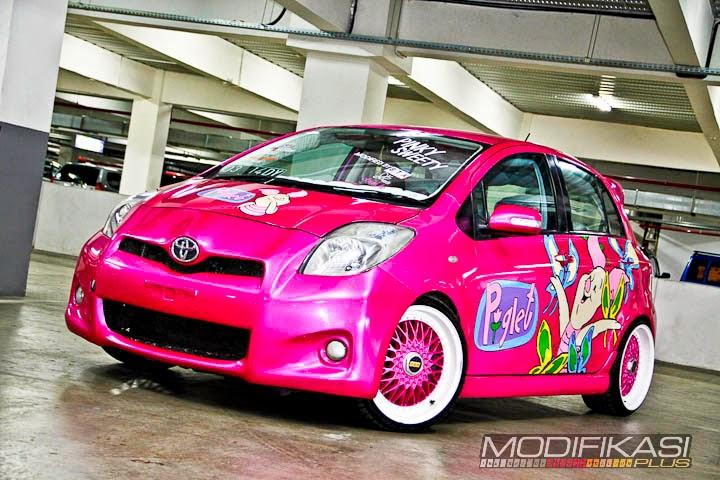 Dunia Modifikasi Kumpulan Modifikasi Mobil Toyota Yaris