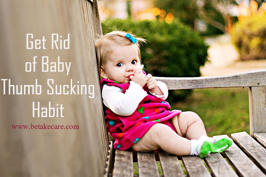Get Rid of Baby Thumb Sucking Habit