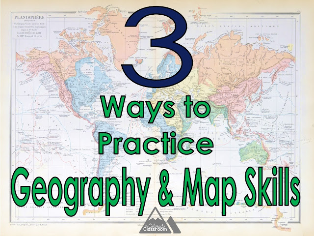 3 Ways to Practice Geography and Map Skills