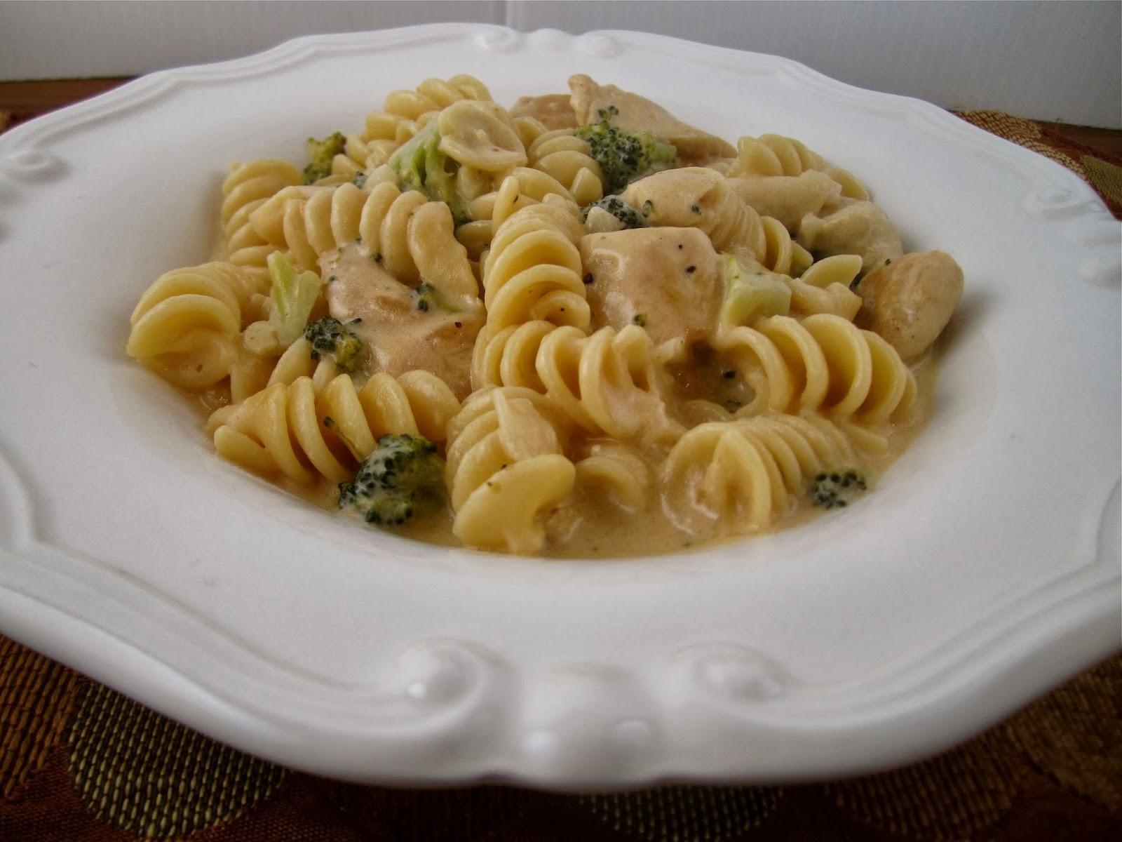 Chicken Cheddar Broccoli Pasta