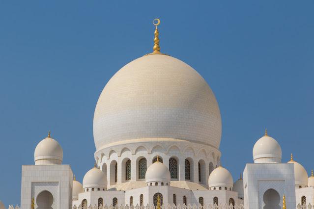 Moschea dello sceicco Zayed Abu Dhabi cupole