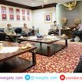 Menteri Pertanian Syahrul Yasin Limpo di Ruang Rapat Kapolri, Ini yang Dibahas