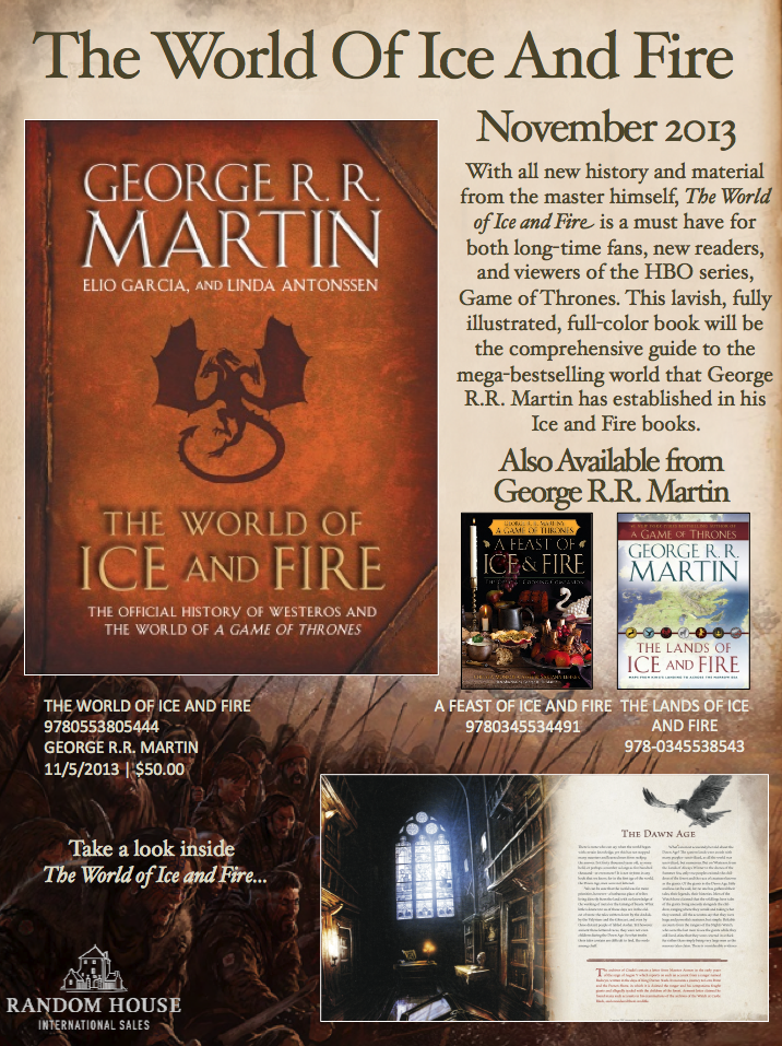 A song of ice and fire book 6 release date in Brisbane