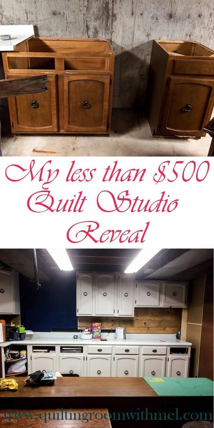 quilt studio reveal