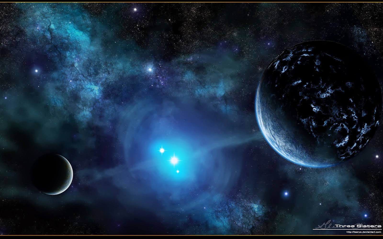 Space Wallpapers High Resolution: Space Fantasy Wallpaper