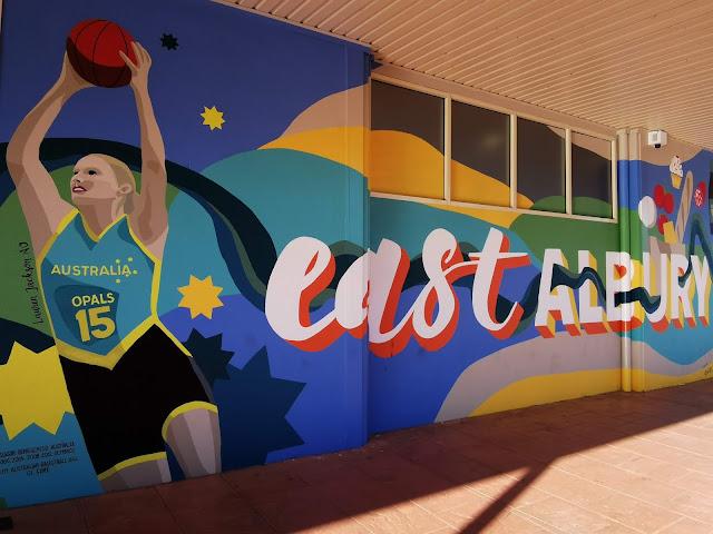 Street Art in Albury by Lisa Van Goff