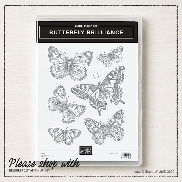 Butterfly Brilliance Brilliant Wings Stampin Up