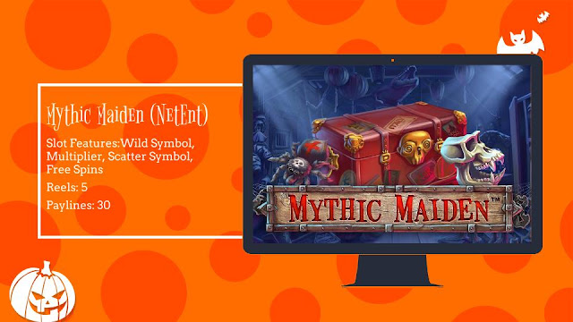Mythic Maiden free slot by NetEnt