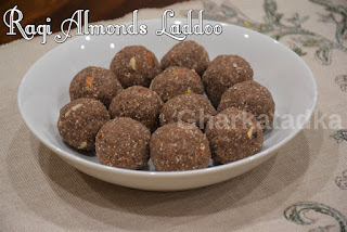 Ragi Almonds Laddoo