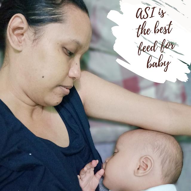 ASI makanan terbaik buat bayi
