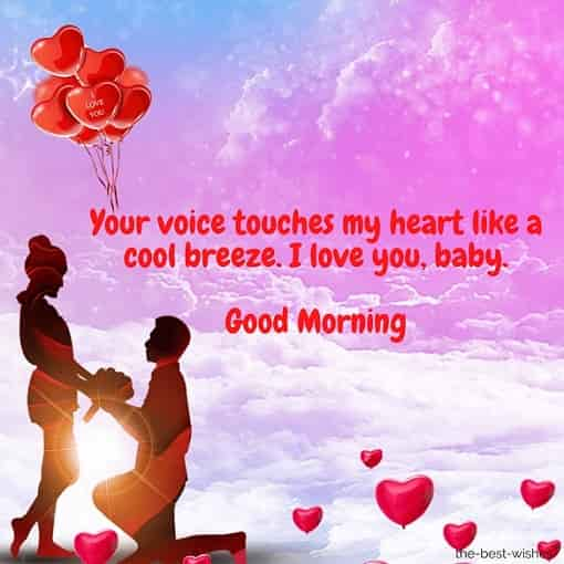 good morning love messages for girlfriend