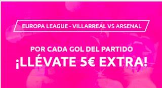 Mondobets promo Villarreal vs Arsenal 29-4-21