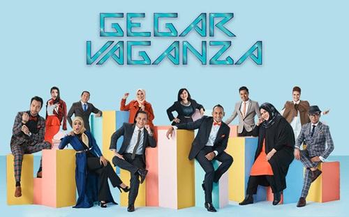 konsert gegar vaganza 2017 minggu 1, konsert pertama gegar vaganza 2017 musim 4, senarai lagu konsert gegar vaganza s4 minggu 1