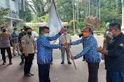 Lepas Atlet untuk Ikuti PON ke-20 Papua, Wali Kota Serang: Pulang Harus Bawah Medali Emas