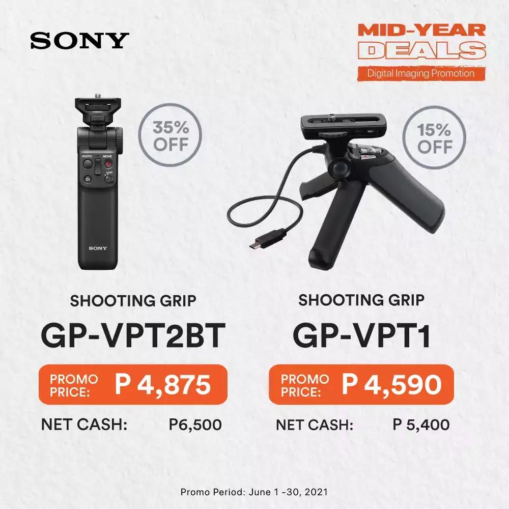 Sony Accessories Promo