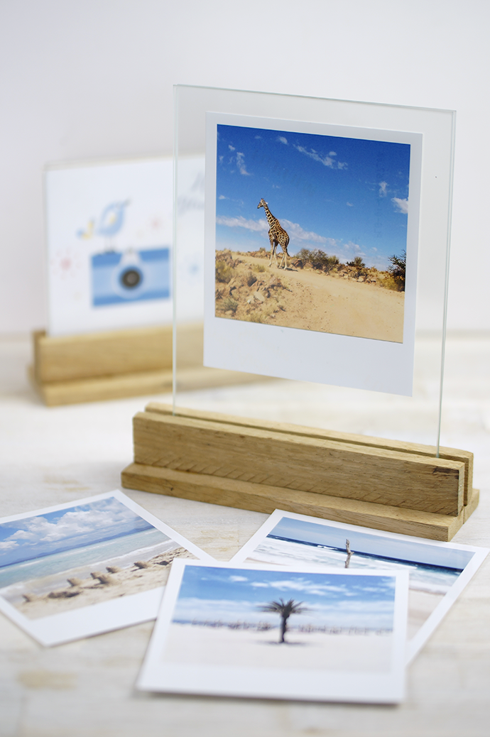 DIY Bilderrahmen | Holzaufsteller für Glasscheiben