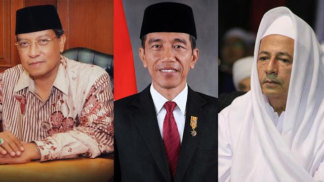 Jokowi, Kiai Said dan Habib Luthfi Masuk 50 Muslim Paling Berpengaruh di Dunia Tahun 2019