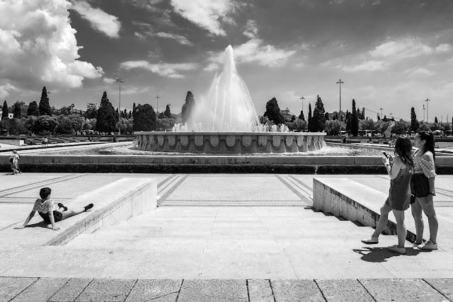 Un paseo por Lisboa - Plaza del Imperio