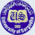 University of Sargodha UOS BA Private Admission Form Fee And Last Date 2020