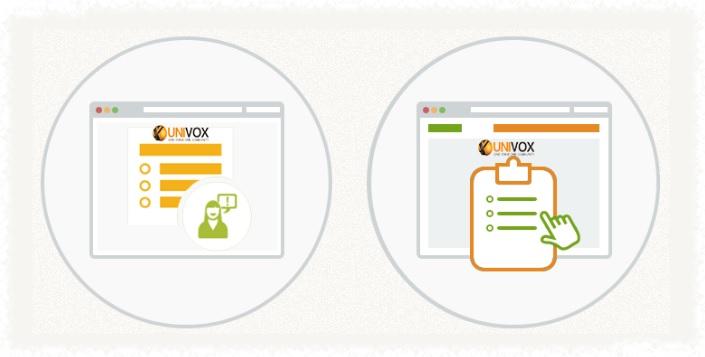 site de pesquisa univox